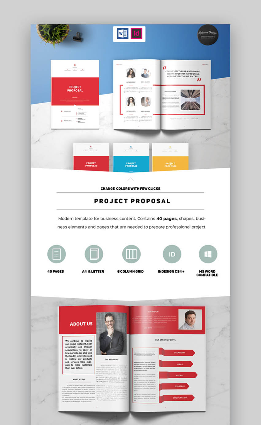 Project Commercial Proposal Template Word