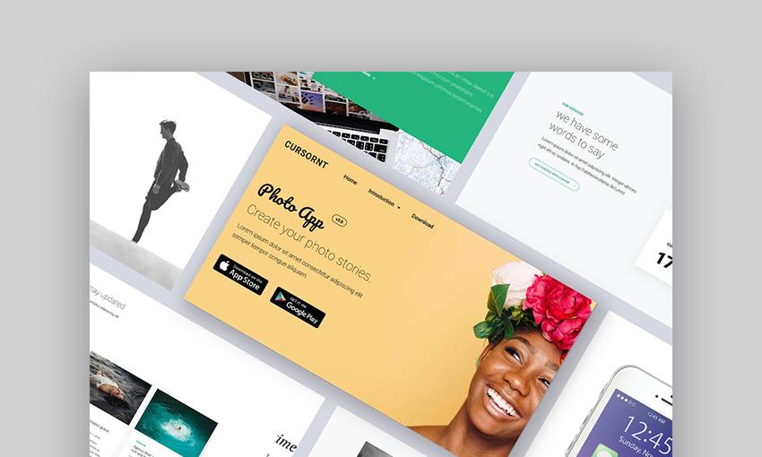 Onepage WordPress Landing Page