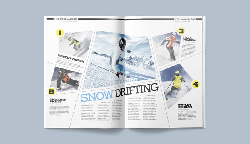 10 Tips For Designing High Impact Magazines
