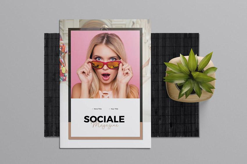 Sociale Cool Magazine Cover
