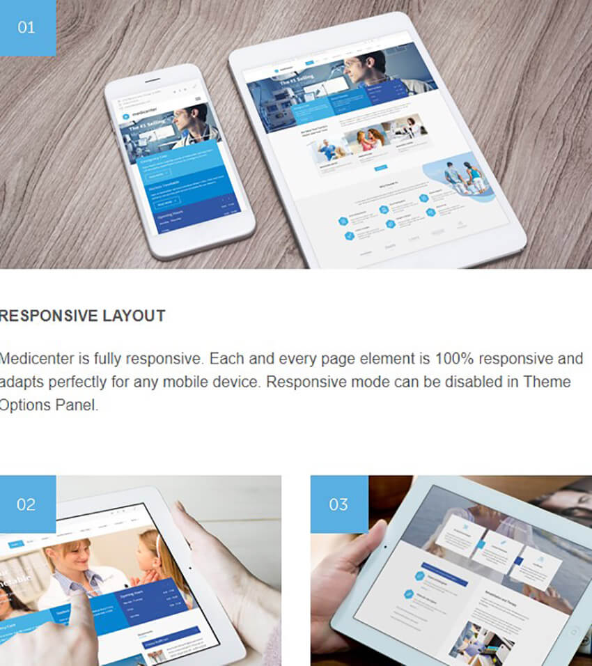 Responsive Doctor Appointment WordPress Theme