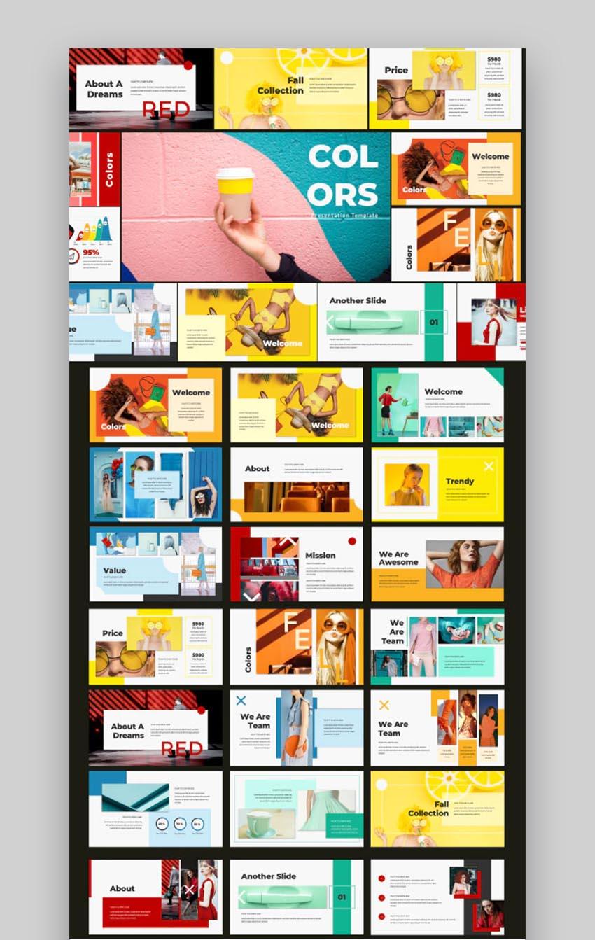 Colors Creative Fun PowerPoint Slides