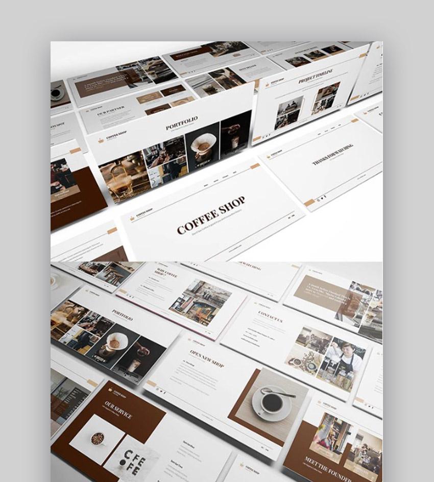 Coffee Shop Presentation Slides