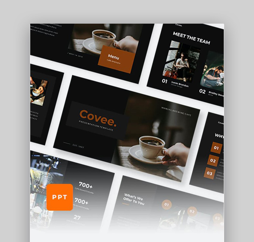 Covee Coffee Presentation Slides