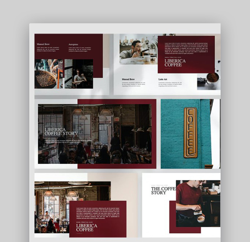 Liberica Coffee PowerPoint Template