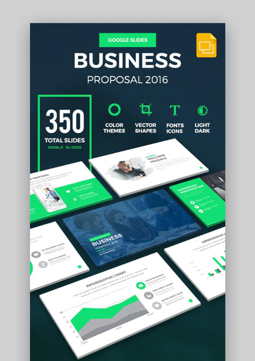 Business Proposal Google Slides Presentation Examples