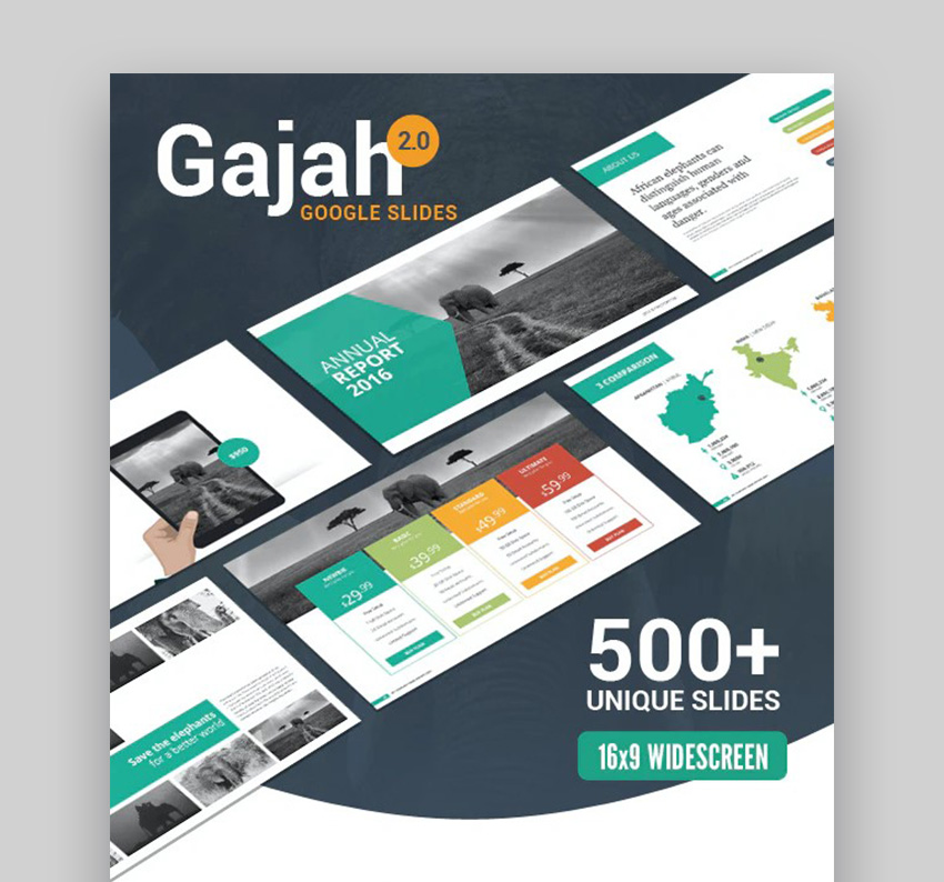 Gajah Best Presentation Themes Google Slides