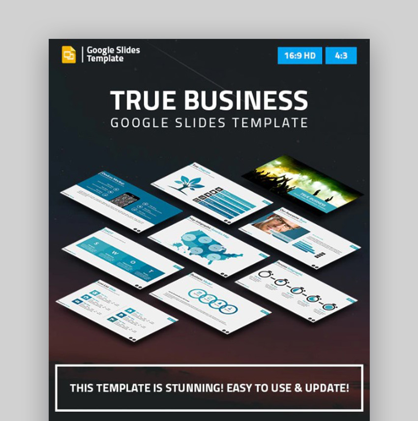 True Business Google Slides Examples