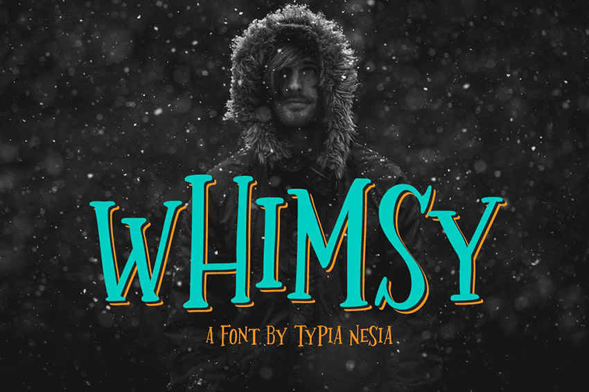 Whimsy Lettering Design