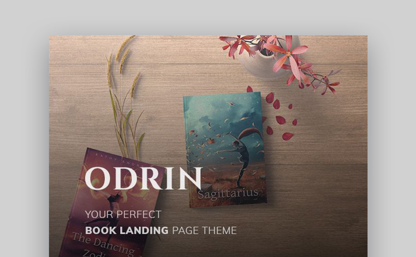 Odrin eBook Download Landing Page