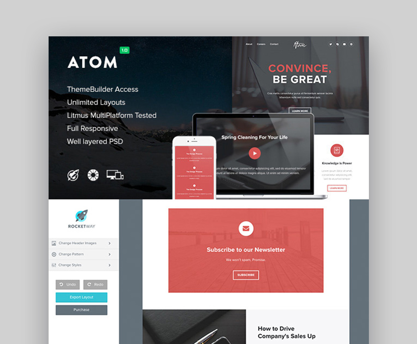 Atom - Responsive Email Template