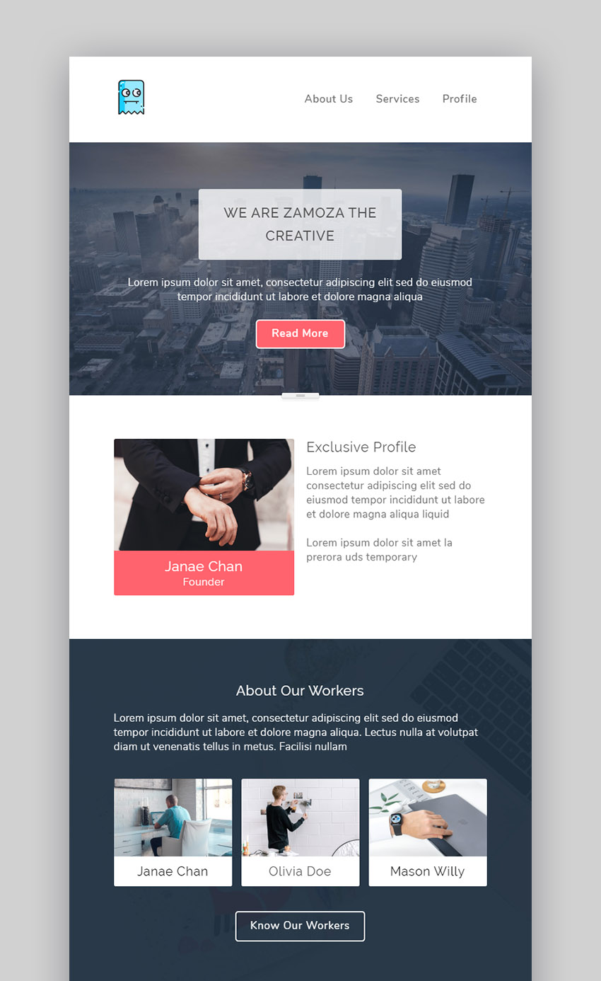 20 Best Free Mailchimp Email Newsletter Templates To Download Now 2020