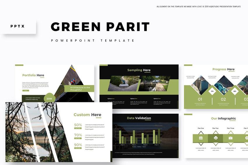 Keymaster Sustainability PowerPoint Template