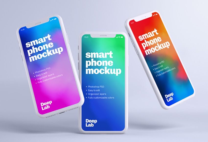 Image of graphicriver 5RXwblSO iphone 11 pro clay mockup set inline image preview source