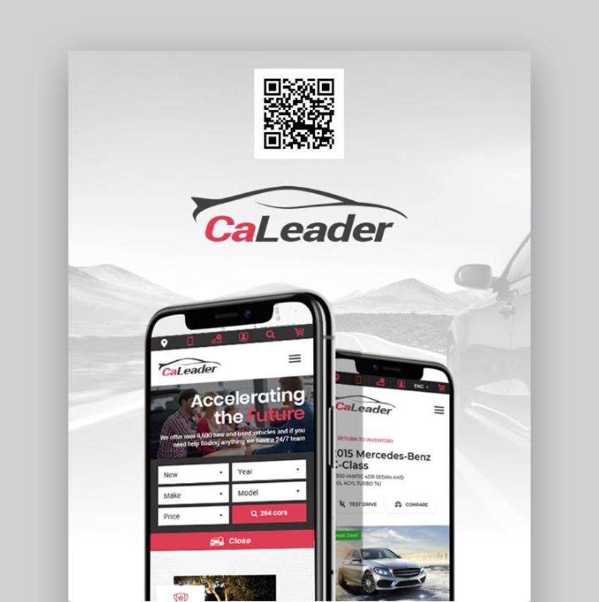 CaLeader WordPress Car Template