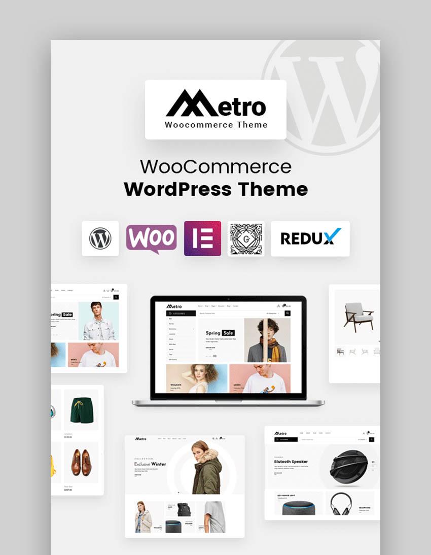 Metro Etsy Style WordPress Theme