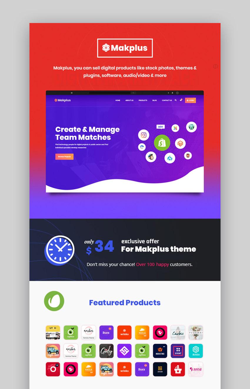 Makplus WordPress Platform Theme