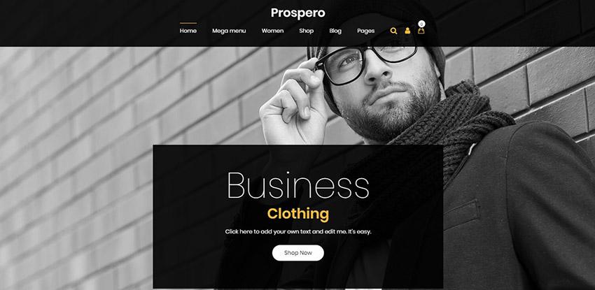 Prospero Jewelry WordPress Theme