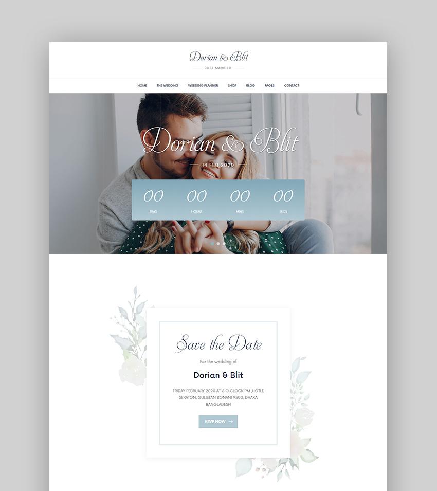 Jolly Wedding Premium WordPress Theme