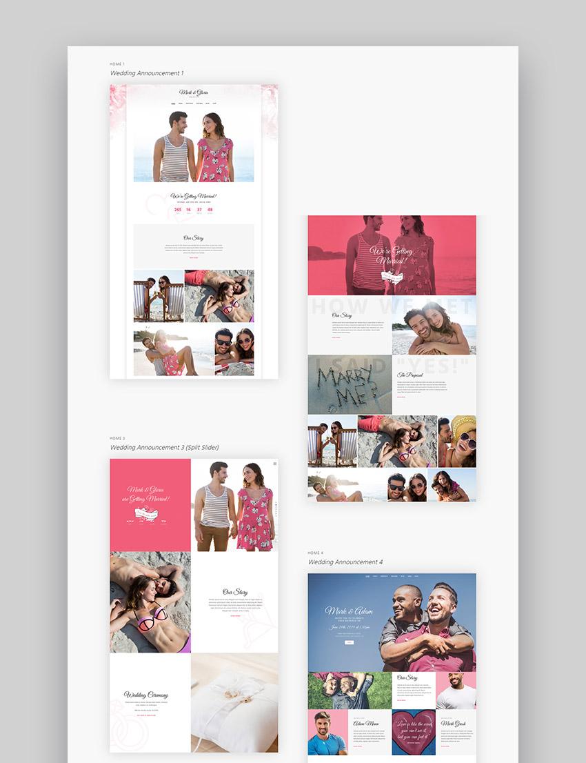 WoWedding WordPress Wedding Website