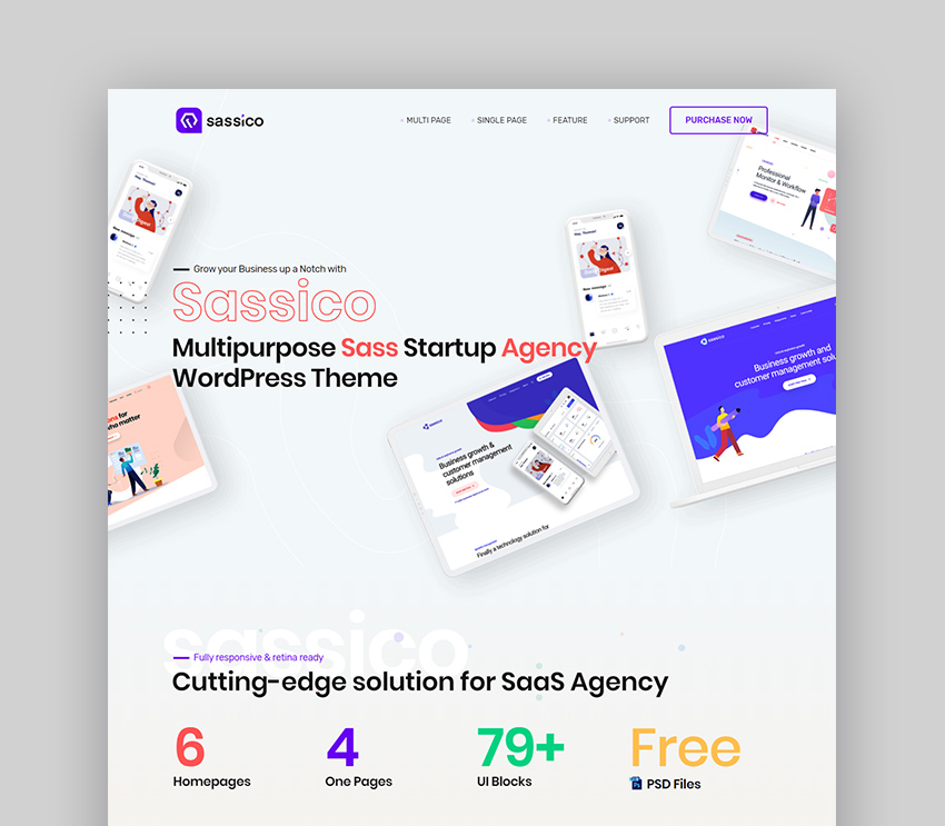 Sassico Technology Theme