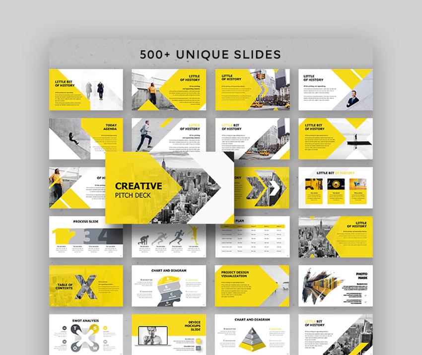 Creative Pitch Deck PowerPoint Presentation for Creative Ideas