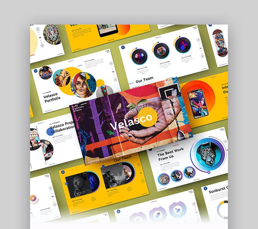 Velasco Creative PowerPoint templates