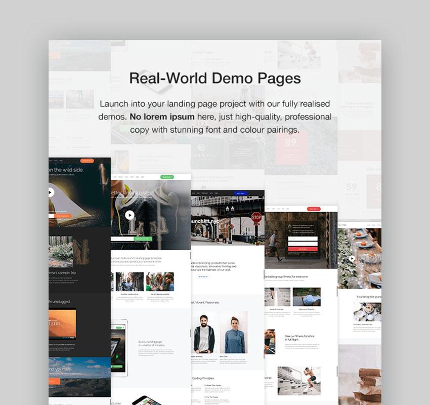 Launchkit Landing Page Template