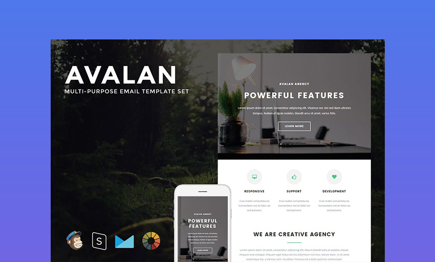 Avalan Best Mailchimp Templates