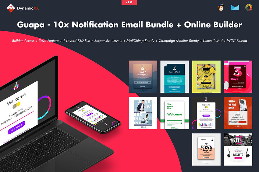 Guapa Notification Email Bundle