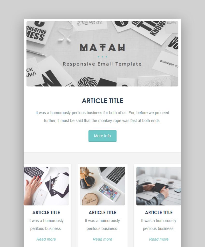 Matah Mailchimp Templates