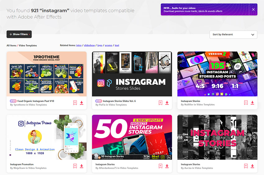 After Effects Business Instagram Templates Envato Elements