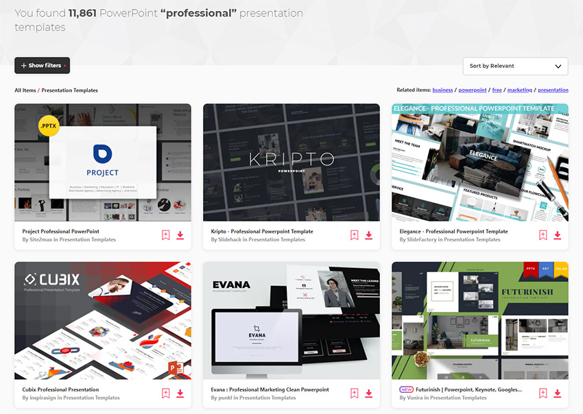 32 Professional Powerpoint Templates For Better Business Ppt Presentations 2020