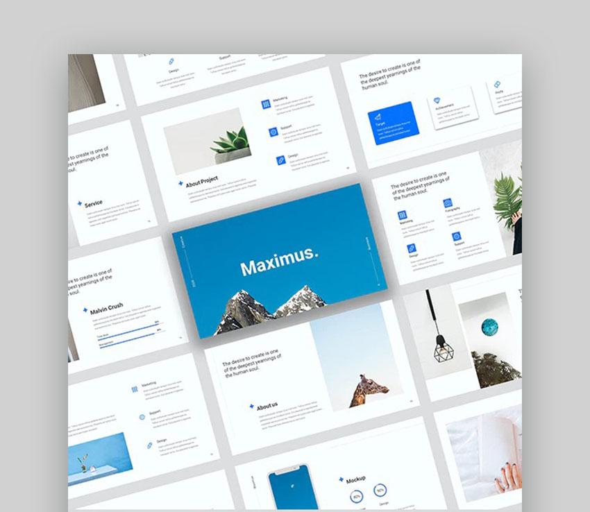 Maximus PowerPoint Graphics