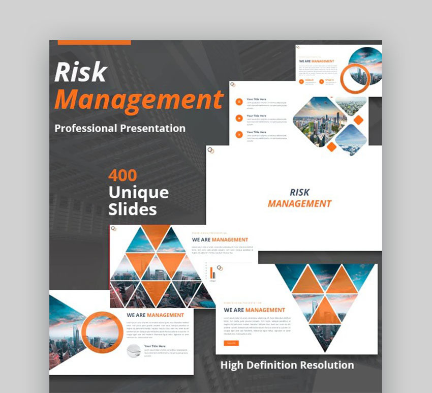 Risk Management Infographic Template PPT