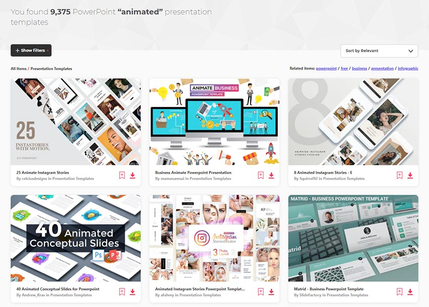 34 Animated PowerPoint PPT Templates (With Cool ...