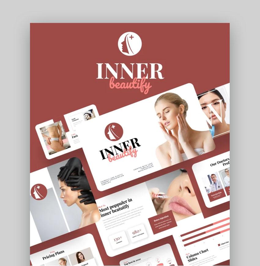Inner Beautify Keynote Design