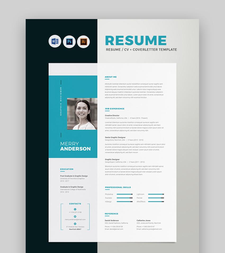 CV Cover Letter Template