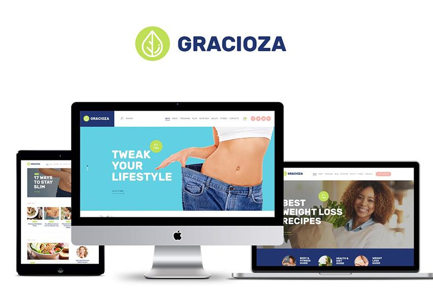 Gracioza Fitness WP Theme