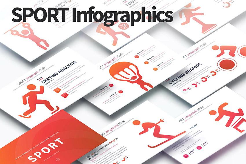 Sport Infographic PPT Presentation