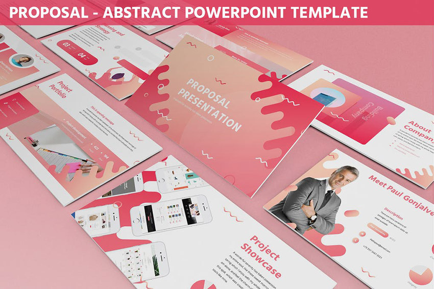Abstract Proposal Presentation PowerPoint Sample