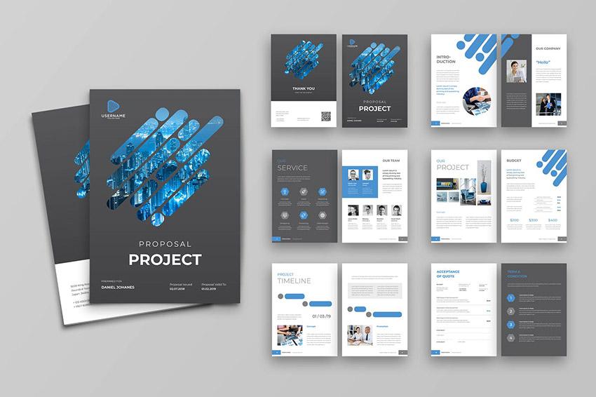 Proposal - Digital Marketing Social Media SEO Proposal Template