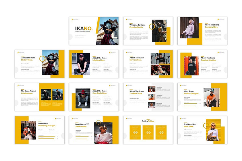 Ikano Creative Professional PowerPoint Template