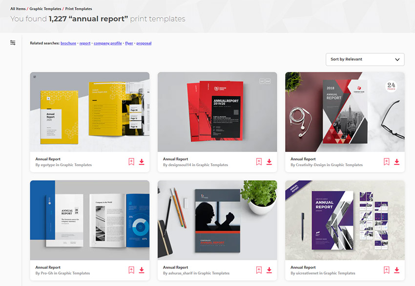 Annual Report Design Samples
