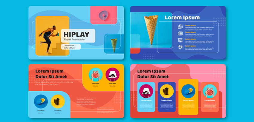 Hiplay Fun Google Slides Slideshow Themes