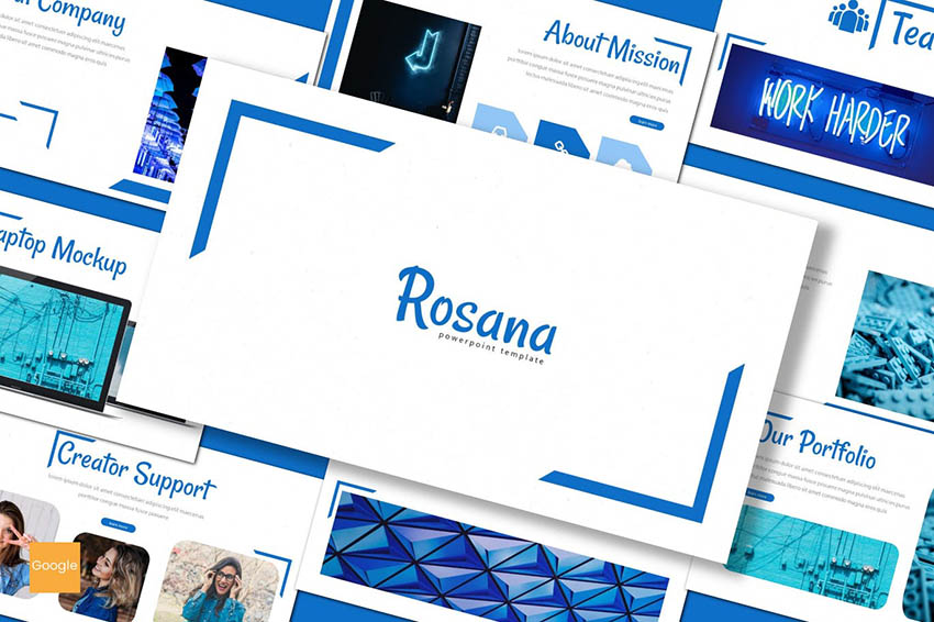 Rosana Google Slides Themes