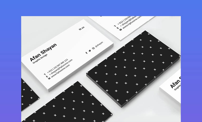 Business Card InDesign