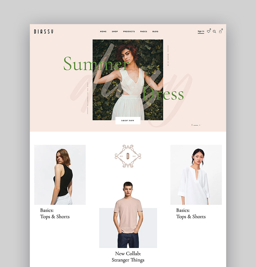 Diassy Multipurpose WooCommerce Dropshipping Theme WordPress
