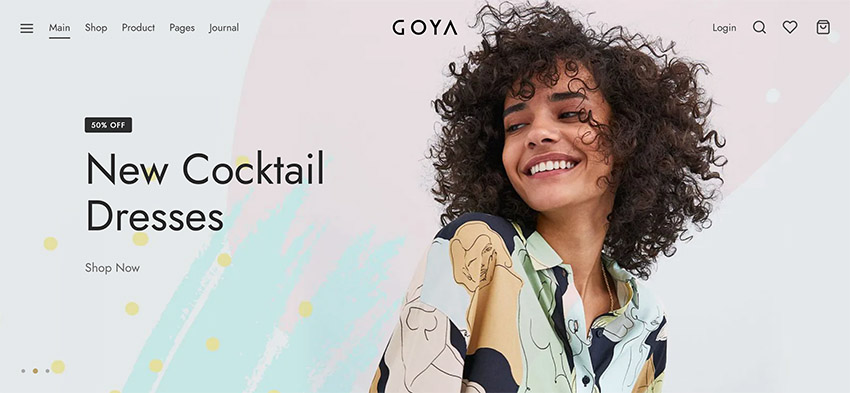 Goya Best WooCommerce Theme for Dropshipping ThemeForest
