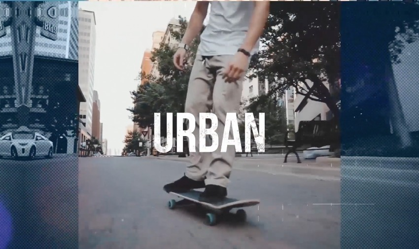 Urban DaVinci Resolve Opener